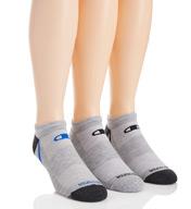 Champion Men's No Show Training Socks- 3 Pack CH201