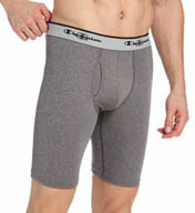 "Champion Tech Performance Athletic Fit 9"" Long Boxer Brief CPU9"