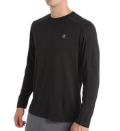Champion Power Train Heather Long Sleeve Vapor Tech Tee T6604