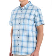 Columbia Thompson Hill Plaid Short Sleeve Shirt 1577651