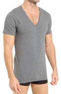 Diesel Jesse Cotton Stretch V-Neck Shirt CGB3AOW