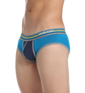 Diesel Jack Underpants Color Block Cotton Stretch Brief SJ64SAIK