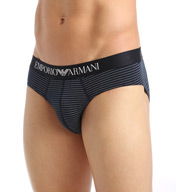 Emporio Armani Classic Print Cotton Stretch Brief 1108145A