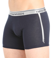 Emporio Armani Metal Elastic Band Cotton Stretch Boxer 1108185A