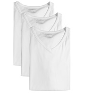 Emporio Armani 100% Cotton V-Neck T-Shirts - 3 Pack 110856B