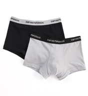 Emporio Armani Stretch Cotton Trunk- 2 Pack 111210C7
