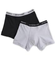 Emporio Armani Essentials Stretch Cotton Boxer Brief - 2 Pack 111268C7