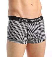 Emporio Armani Classic Print Cotton Stretch Trunk 1113895A
