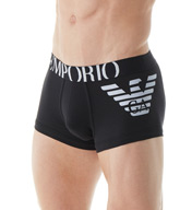Emporio Armani Essentials Eagle Stretch Cotton Trunk 111866Y