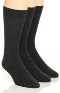 Florsheim Socks Classics Merino Wool Socks - 3 Pack W7307HR