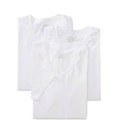 Fruit Of The Loom Mens Core 100% Cotton V-Neck T-Shirts - 3 Pack 2626V