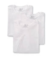 Fruit Of The Loom Big Man's 100% Cotton Crew T-Shirts- 3 Pack 2790BM