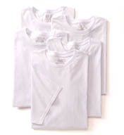 Fruit Of The Loom Big Man Core 100% Cotton Crew T-Shirts - 5 Pack 5P2790