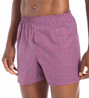 Fruit Of The Loom Core Assort Fashion Print Woven Boxers - 5 Pack 5P582