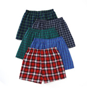 Fruit Of The Loom Assorted Traditional Tartan Woven Boxers - 5 Pack 5P590