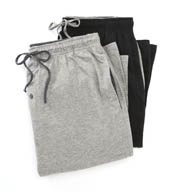 Hanes Classics 100% Cotton Knit Pant- 2 Pack 4047