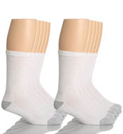 Hanes Classic Super Soft Cotton Crew Socks - 10 Pack 84-10