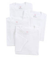 Hanes Tall Man Premium Cotton Crew Necks - 4 Pack 9856W4