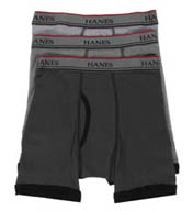 Hanes Boys Boxer Briefs - 3 Pack MC7743