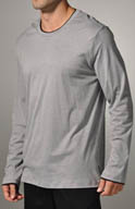 Hanro Noble Long Sleeve Tee 5104