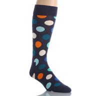 Happy Socks Combed Cotton Big Dots Crew Sock BD01-605