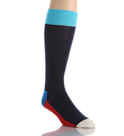 Happy Socks Combed Cotton Five Color Crew Sock FI01-066