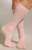 JM Dickens Mid Calf Pima Cotton Rib Socks 10001