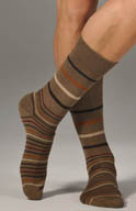 JM Dickens Graded Stripe Sock 301231