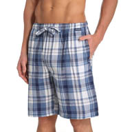 Jockey Chambray Plaid Woven Sleep Jam 65355JY