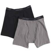 Jockey Cotton Stretch Midway Brief - 2 Pack 8497