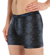Kenneth Cole Optic Black Cotton Boxer Brief RNM3117