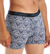 Kenneth Cole Clinton Cobalt Sebta Print Boxer Brief RNM3128