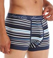 Kenneth Cole Clinton Cobalt Noho Stripe Trunk RNM5401