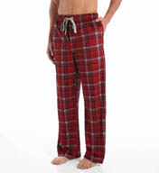 Kenneth Cole Soft Comfortable Plaid Fleece Lounge Pant RNM6705