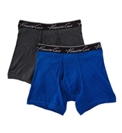 Kenneth Cole Super Fine Cotton Boxer Briefs - 2 Pack RNM8201