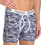 Kenneth Cole Reaction Electric Stripe Print Cotton Spandex Boxer Brief REM3116