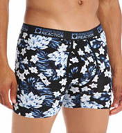 Kenneth Cole Reaction Blue York Winter Tropic Print Boxer Brief REM3122