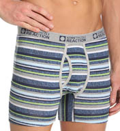 Kenneth Cole Reaction Textured Stripe Cotton Spandex Brief REM3128