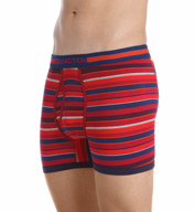 Kenneth Cole Reaction Wide Multi Stripe Cotton Stretch Boxer Brief REM3130