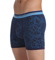 Kenneth Cole Reaction Tropical Plant Cotton Stretch Boxer Brief REM3135
