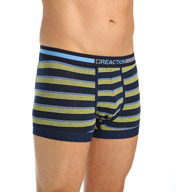 Kenneth Cole Reaction Fashion Striped Cotton Stretch Trunk REM5422