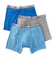 Kenneth Cole Reaction Essentials 100% Cotton Boxer Brief - 3 Pack REM8205