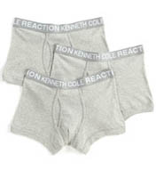 Kenneth Cole Reaction Base Trunks - 3 Pack REM8301