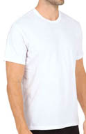 Kenneth Cole Reaction Base Crew Neck T-Shirt - 3 Pack REM8701