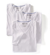 Kenneth Cole Reaction Essentials 100% Cotton V-Neck - 3 Pack REM8804