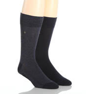 Levis 168 Series Core Solid Regular Socks- 2 Pack 16804101