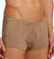 Male Power Stretch Suede Mini Short 145-180