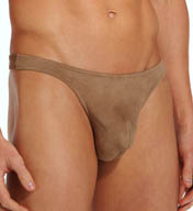 Male Power Stretch Suede Bong Thong 442-180