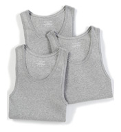 Michael Kors Soft Touch Cotton Modal A-Shirt Tank Tops - 3 Pack 09M0583