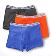 Michael Kors Soft Touch Cotton Trunks 3-Pack 09M0629